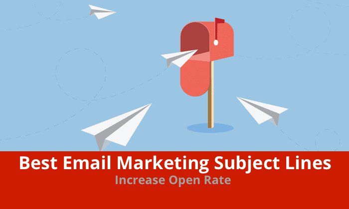 Best Email Marketing Subject Lines To Increase Open Rate